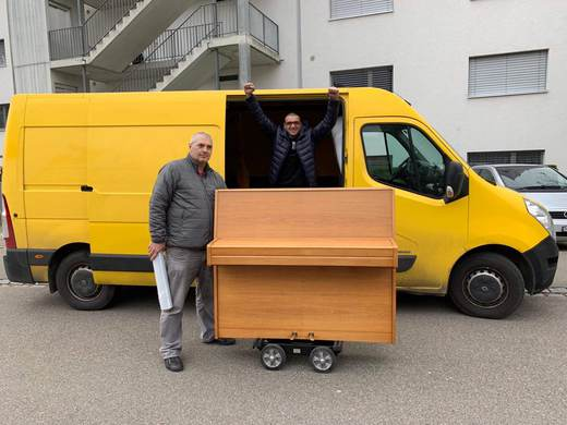 piano transport and relocation from Pianotrans